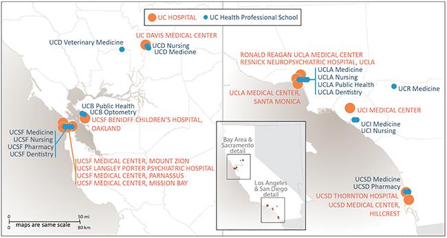 University of California   11: UC Health
