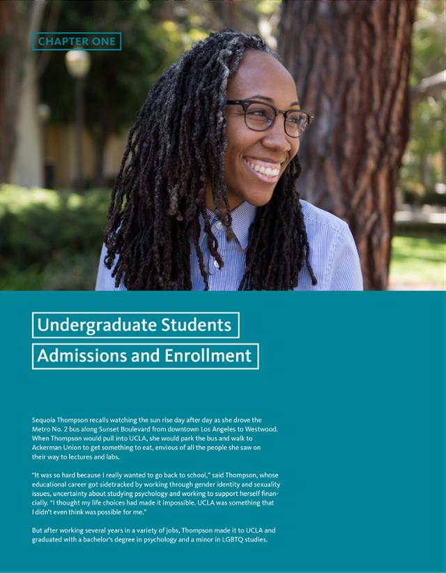University of California | 1: Undergraduate Admissions and