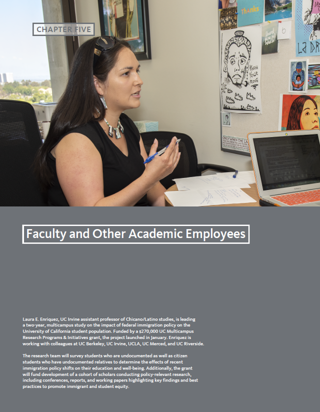 University of California | 5: Faculty and Other Academic Employees